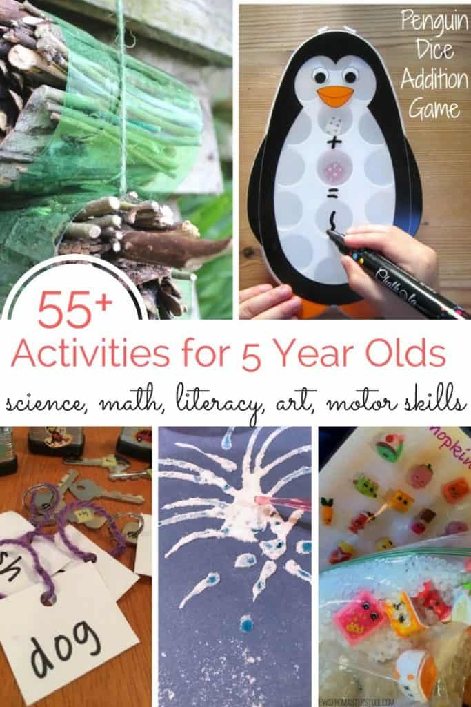 55 Activities For 5 Year Olds Views From A Step Stool