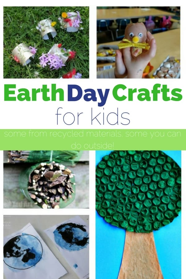 Earth Day Crafts For Kids Views From A Step Stool
