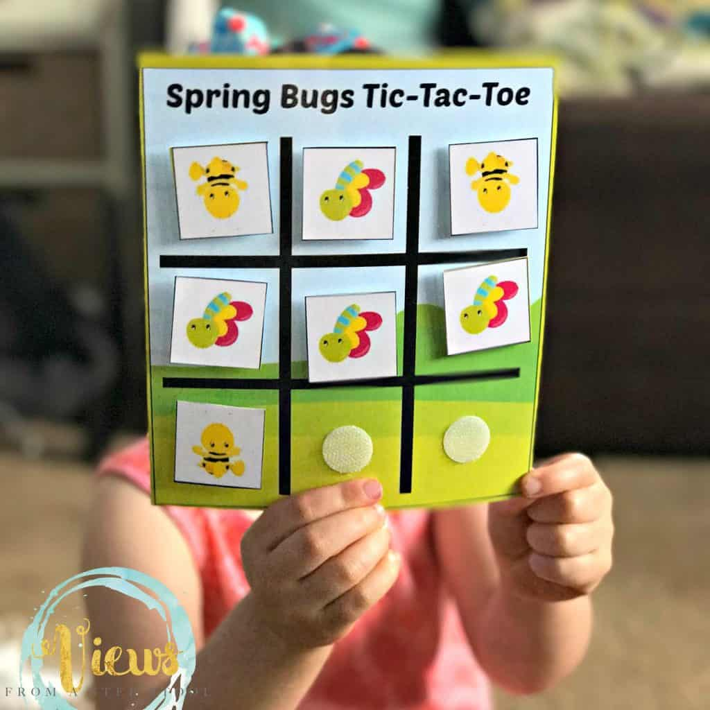 tic tac toe busy bag 8