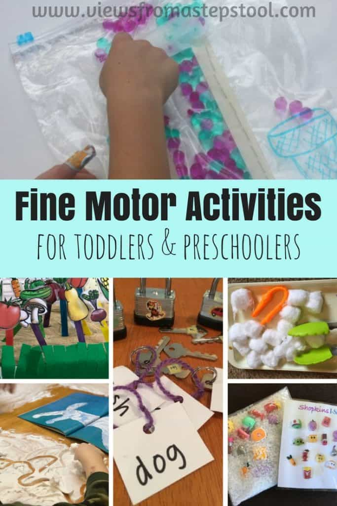 This collection of activities involves the practice of gross and fine motor activities for the purposes of involving kids in play-based learning and fun.