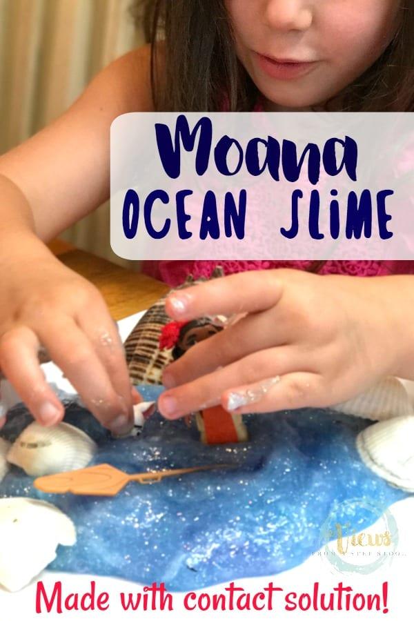 Moana Ocean Slime Pin 1