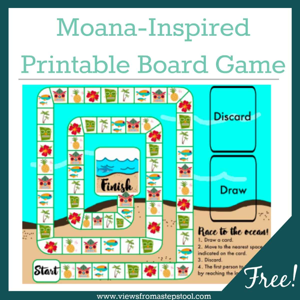 moana board game square