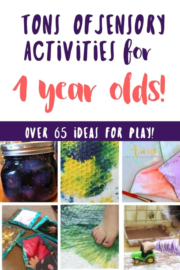 60 awesome activities for 1 year olds tested and loved sensory activities for 1 year olds pin 1 2 negle Images
