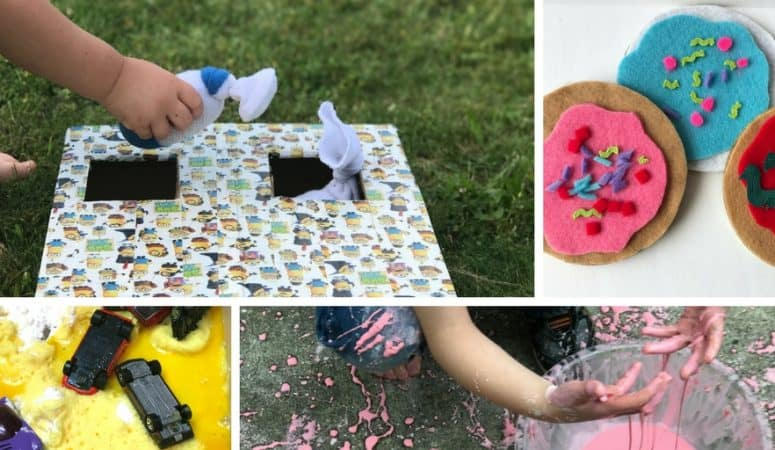 Toddler Playdate Ideas for 1 and 2 Year Olds