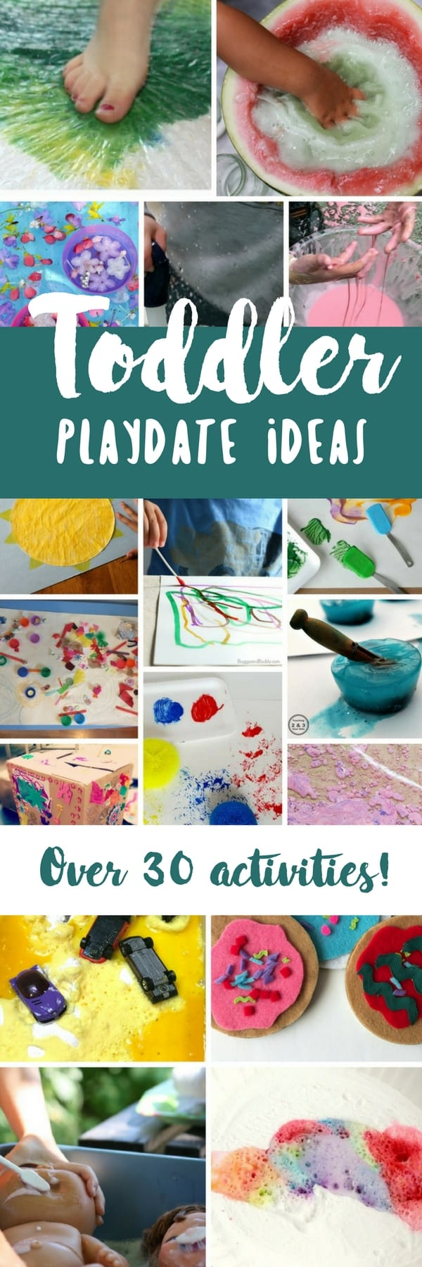 These toddler playdate ideas are perfect for fun and social skill building for 1 and 2 year olds.