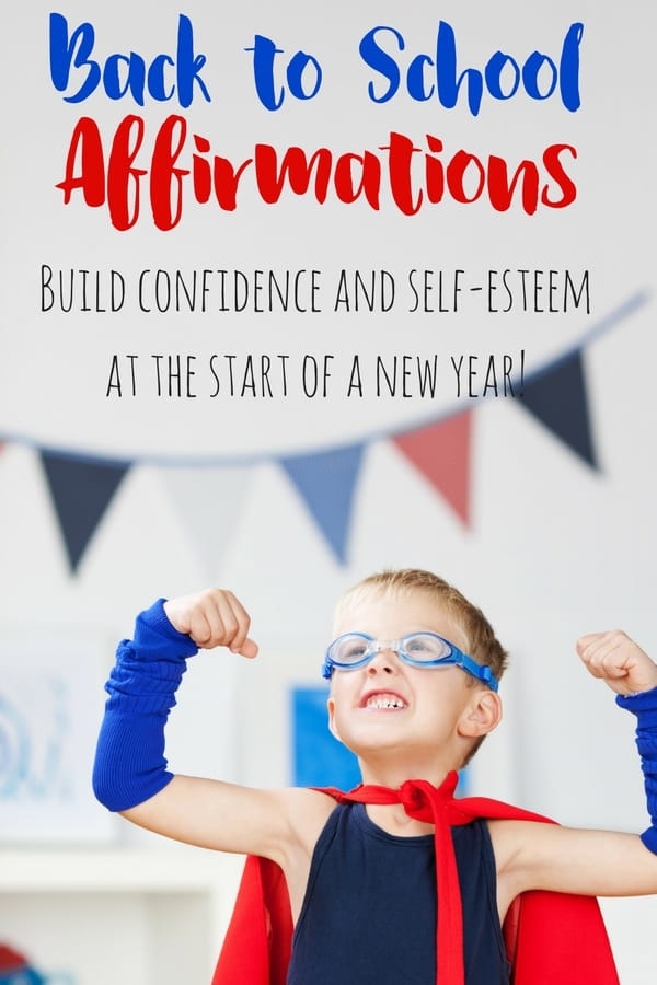 Back To School Affirmations Printable Mini Book Views