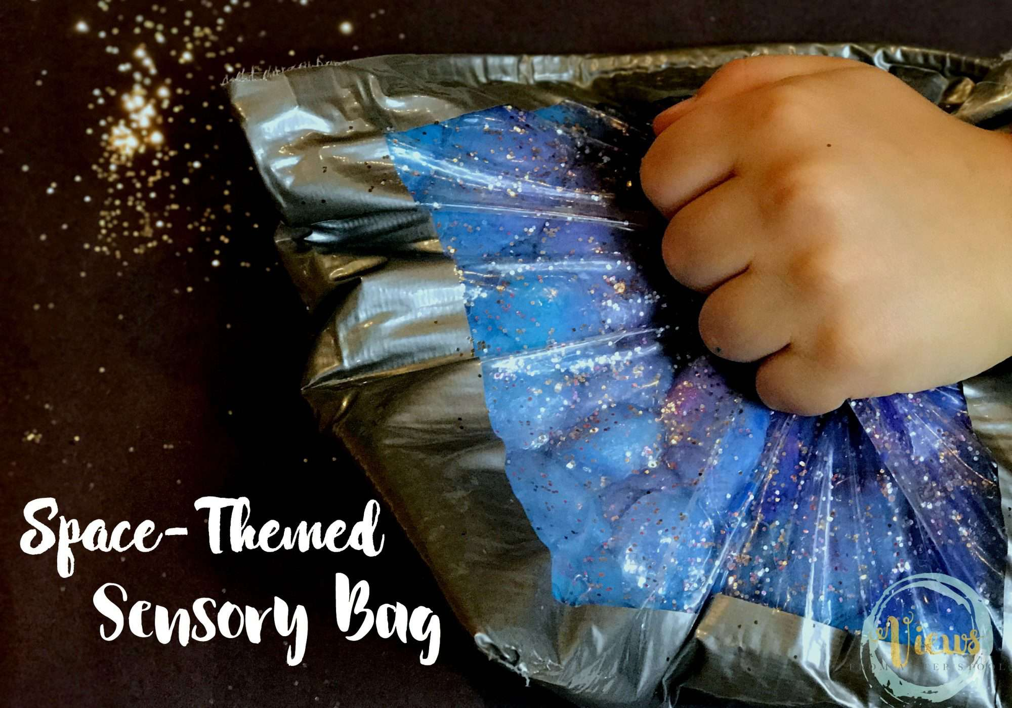 Space Sensory Bag – Mess-Free Play for Babies and Toddlers