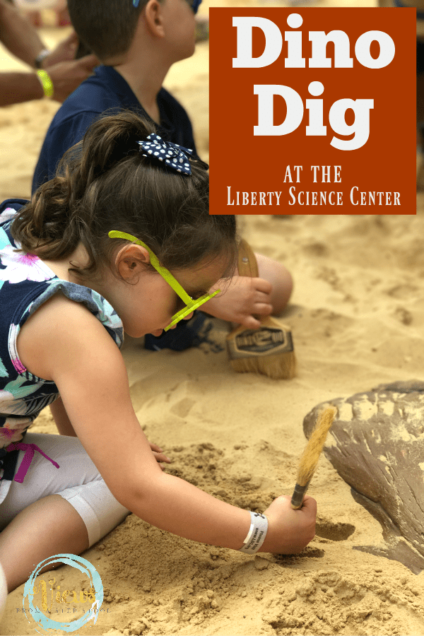 Go on a dino dig at the Liberty Science Center and become a paleontologist for the day. Discover fossils of various dinosaurs and learn through play.