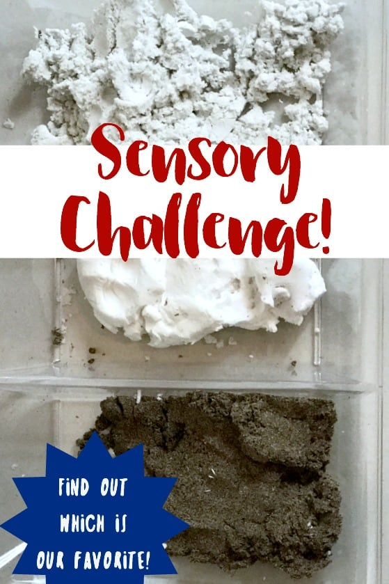 We took the #PlayVision sensory challenge! There is so much value in sensory play. Here is an honest look (video included) of our thoughts.