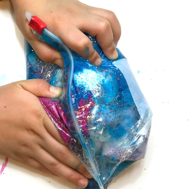 space sensory bag 6