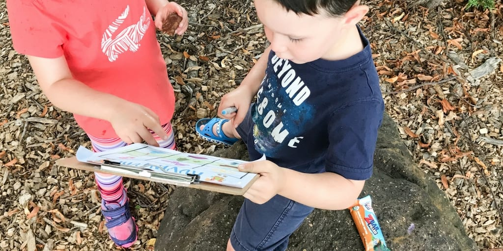 Best Tips for Hiking with Kids + Printable Nature Scavenger Hunt
