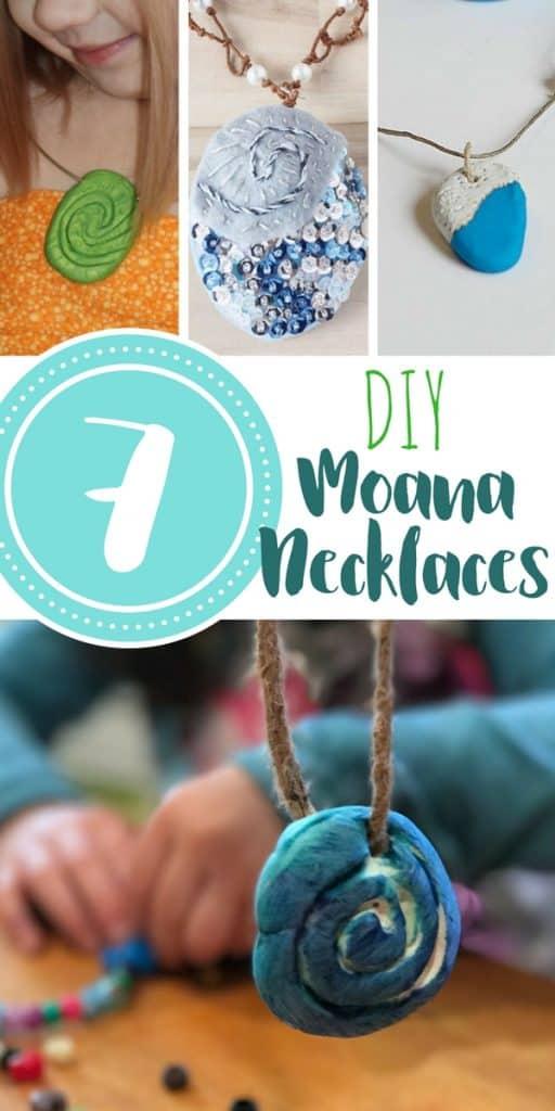 moana necklace craft pin 2