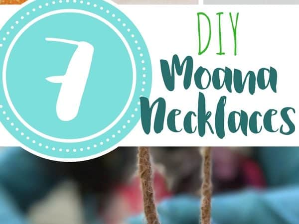7 DIY Moana Necklaces Kids Will Love to Make