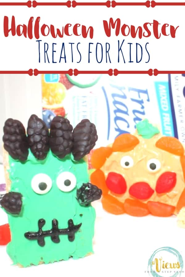 Get creative and decorate your Monster Halloween Treats with Welch's Fruit Snacks, check out how we made our monster goodies come to life with the shapes and colors of Welch's Fruit Snacks!