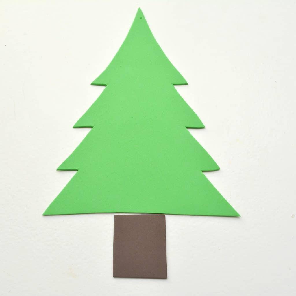 Image Of Christmas Tree Shape Christmas Tree Shape cut out Coloring ...