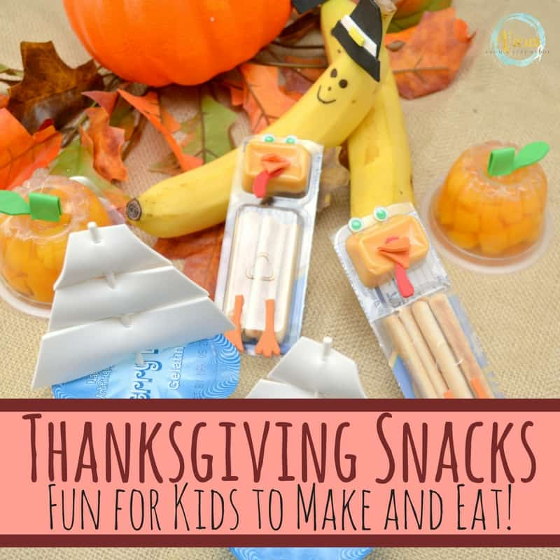 These Thanksgiving snacks are SO cute! With zero cooking involved, simply dress up some pre-made snacks, and voila, Thanksgiving snacks are complete.