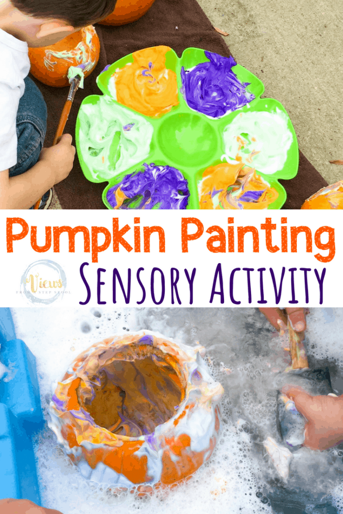 pumpkin painting sensory pin 1