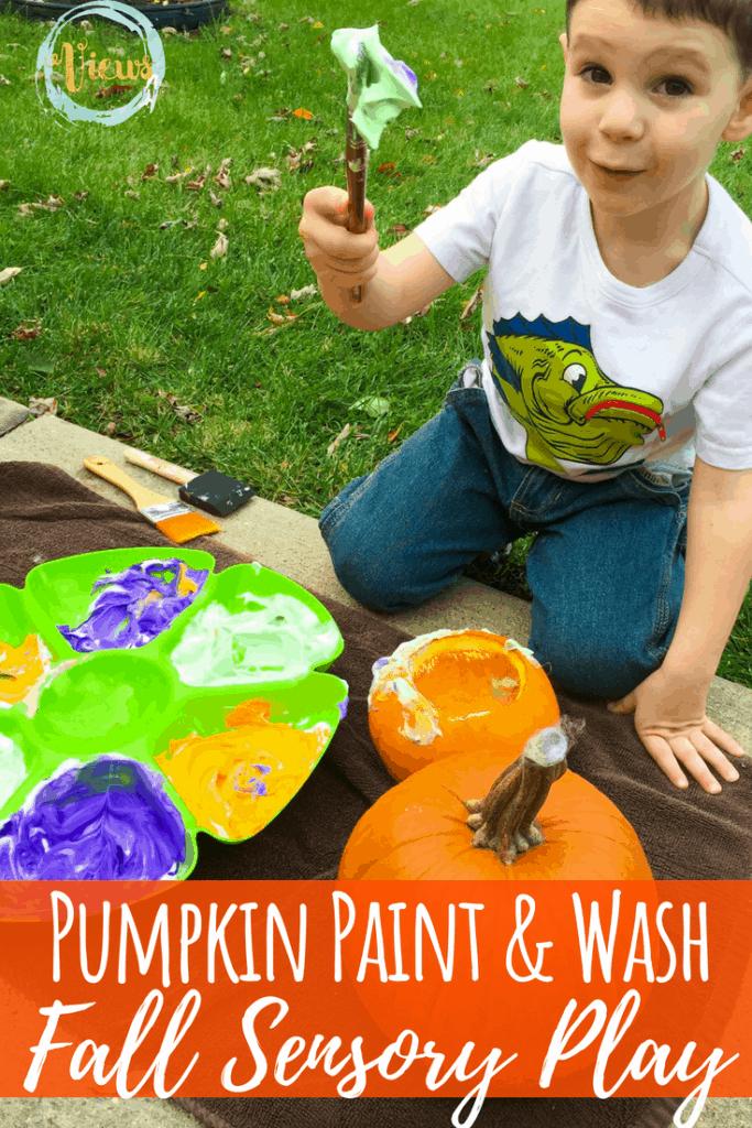 pumpkin painting sensory pin 2