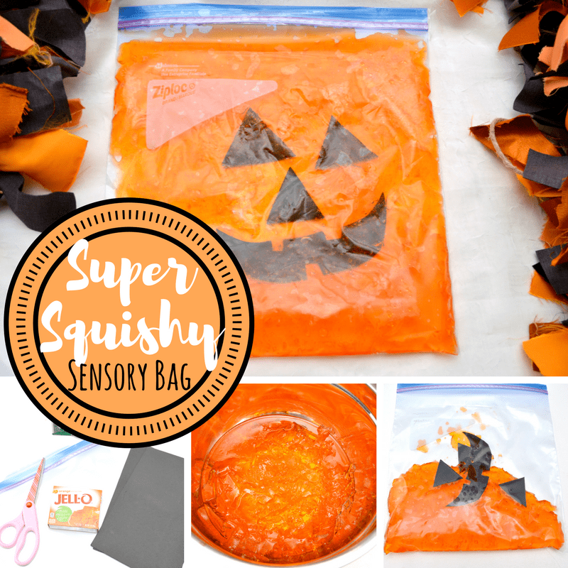 sensory bag for babies square