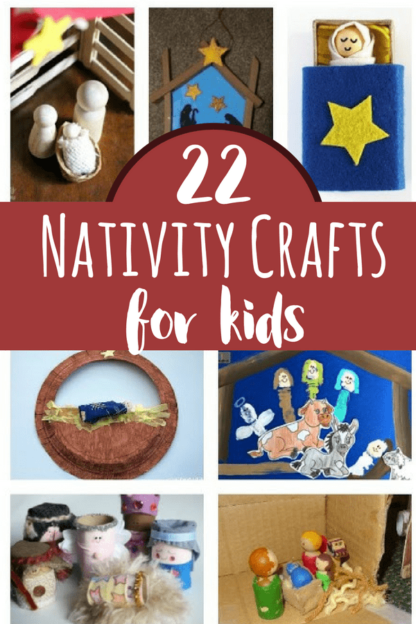 These nativity crafts for kids are perfect for holiday preparation during the Christmas season. What a fun way to learn and engage with kids!