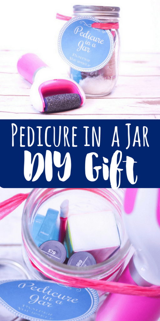Pedicure In A Jar Diy Gift With Pedi Perfect Views From
