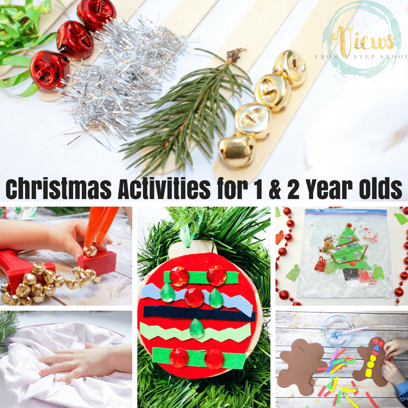 Christmas Activities for 1 & 2 Year Olds square