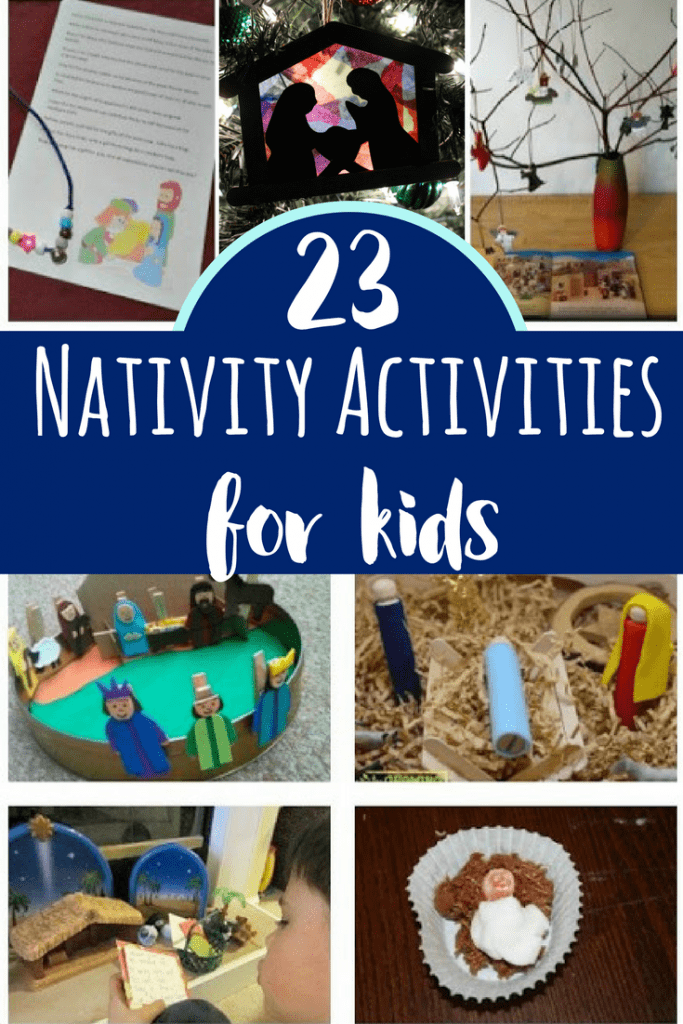 23 fun and engaging nativity activities that can help kids better make sense of the complex story. Plus, these are tons of fun!