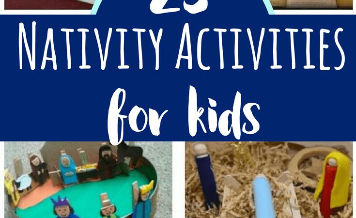 23 Nativity Activities for Kids