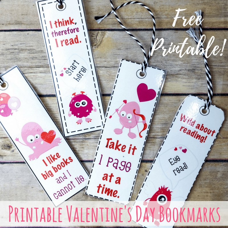 Printable bookmarks square