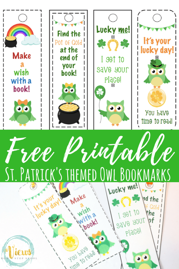 These St. Patrick's Day printable bookmarks are perfect to use during the St. Patrick's Day season! They are funny and cute, perfect for young readers.