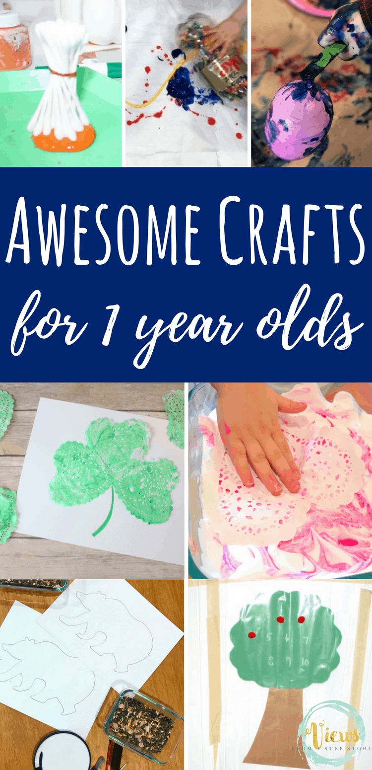 Awesome Crafts for 1 year olds pin