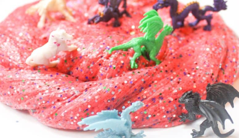 Fluffy Jello Slime Recipe with Mythical Beasts
