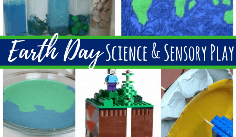 Earth Day Science Experiments and Sensory Activities for Kids