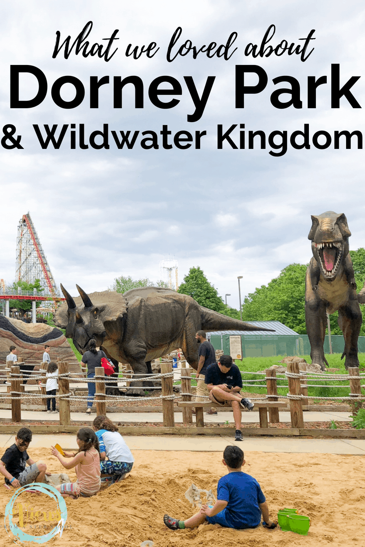 How to have family fun at an amusement park for non-thrill seekers! Our trip to Dorney Park & Wildwater Kingdom. #dorneypark #amusementpark #familyfun #daytripswithkids #thrillseekers