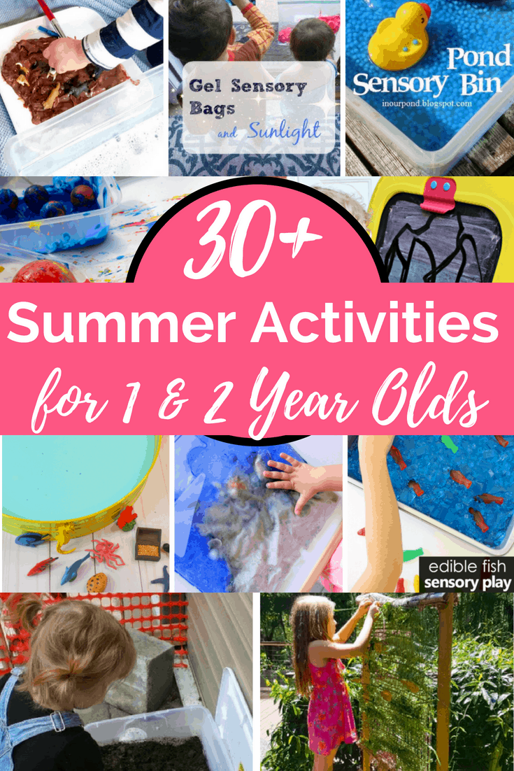 30 Summer Activities For 1 Year Olds And Toddlers Views
