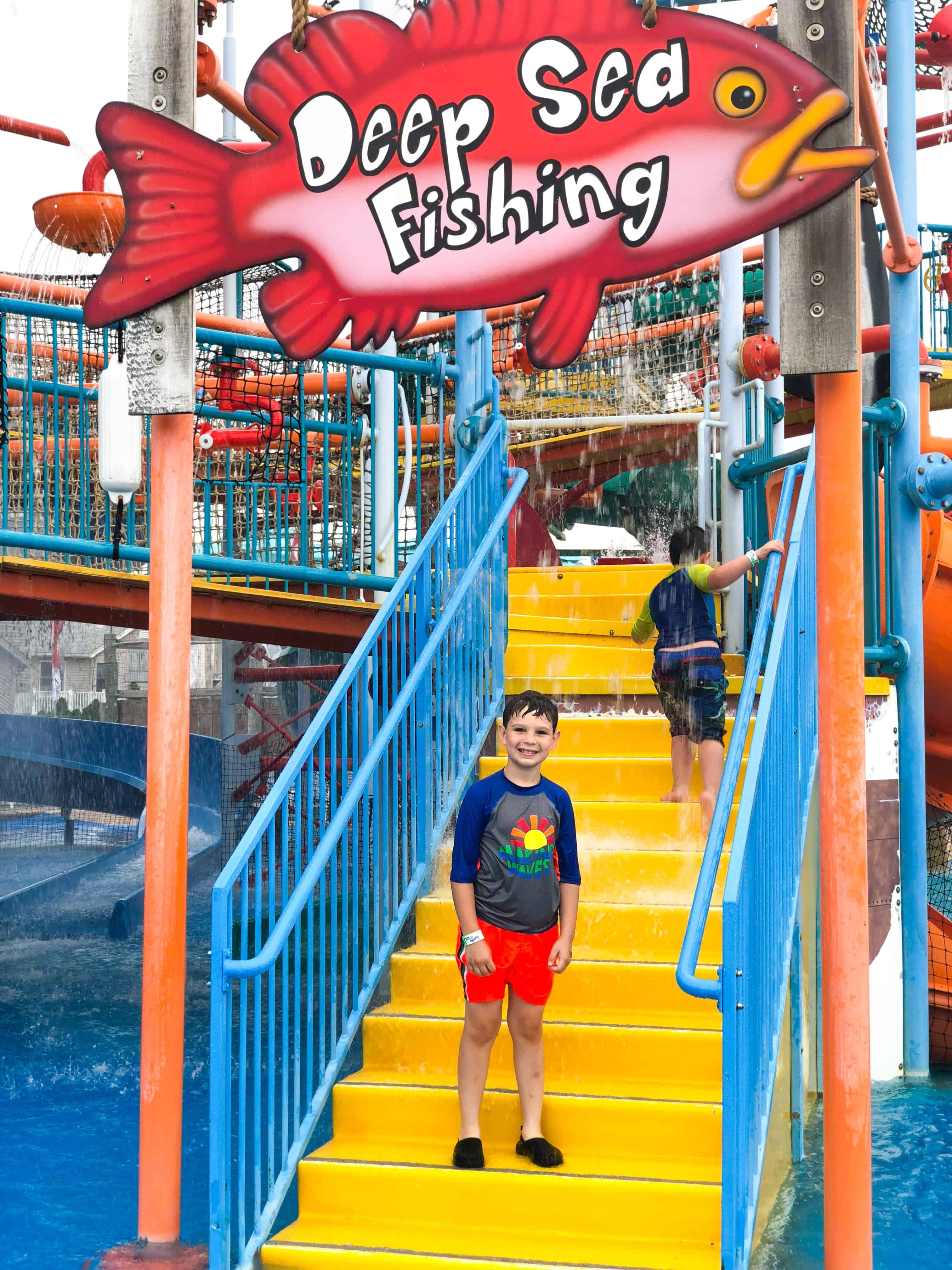 Attractions and family activities at Casino Pier and Breakwater Beach in Seaside, NJ. From water slides to rides, see our top 5 must-do's. #seasidenj #familyfun #njtravel #njentertainment #shorelife #summerfun