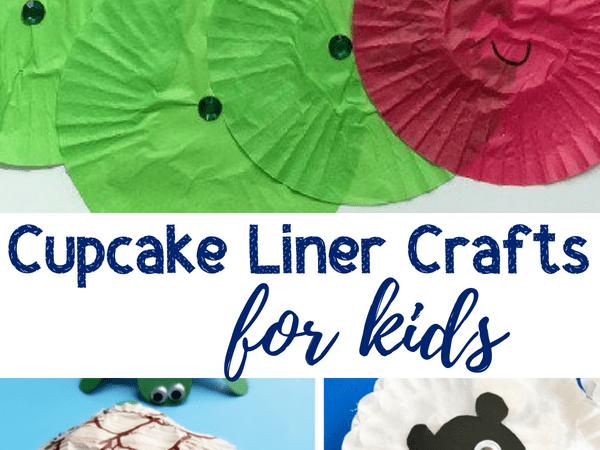 Cupcake Liner Crafts for Kids