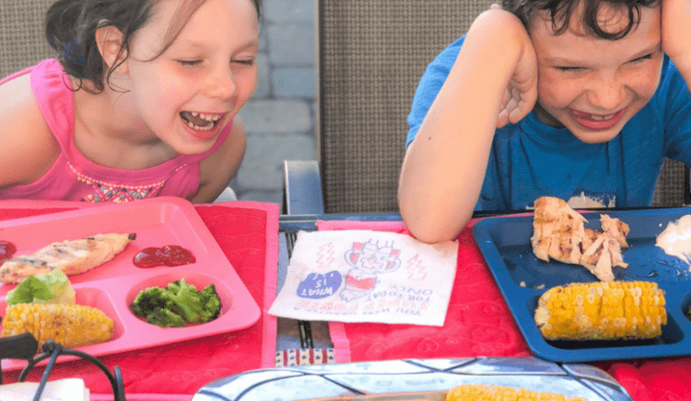 The Genius Napkins that Get Kids Talking at Dinnnertime
