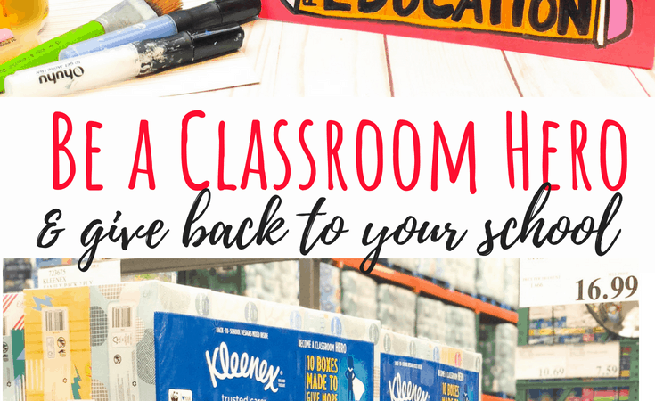 Upcycled Kleenex Box for Box Top Collection – Be a Classroom Hero!