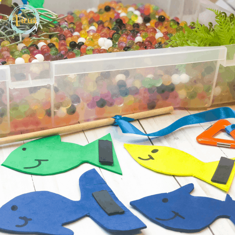 foam fish with magnets