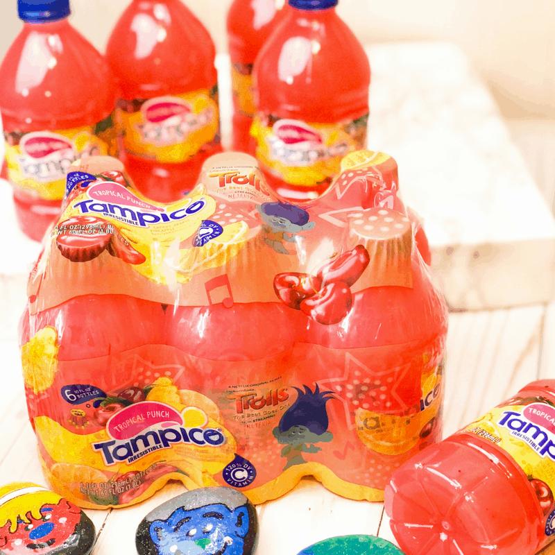 trolls multipack juice bottles