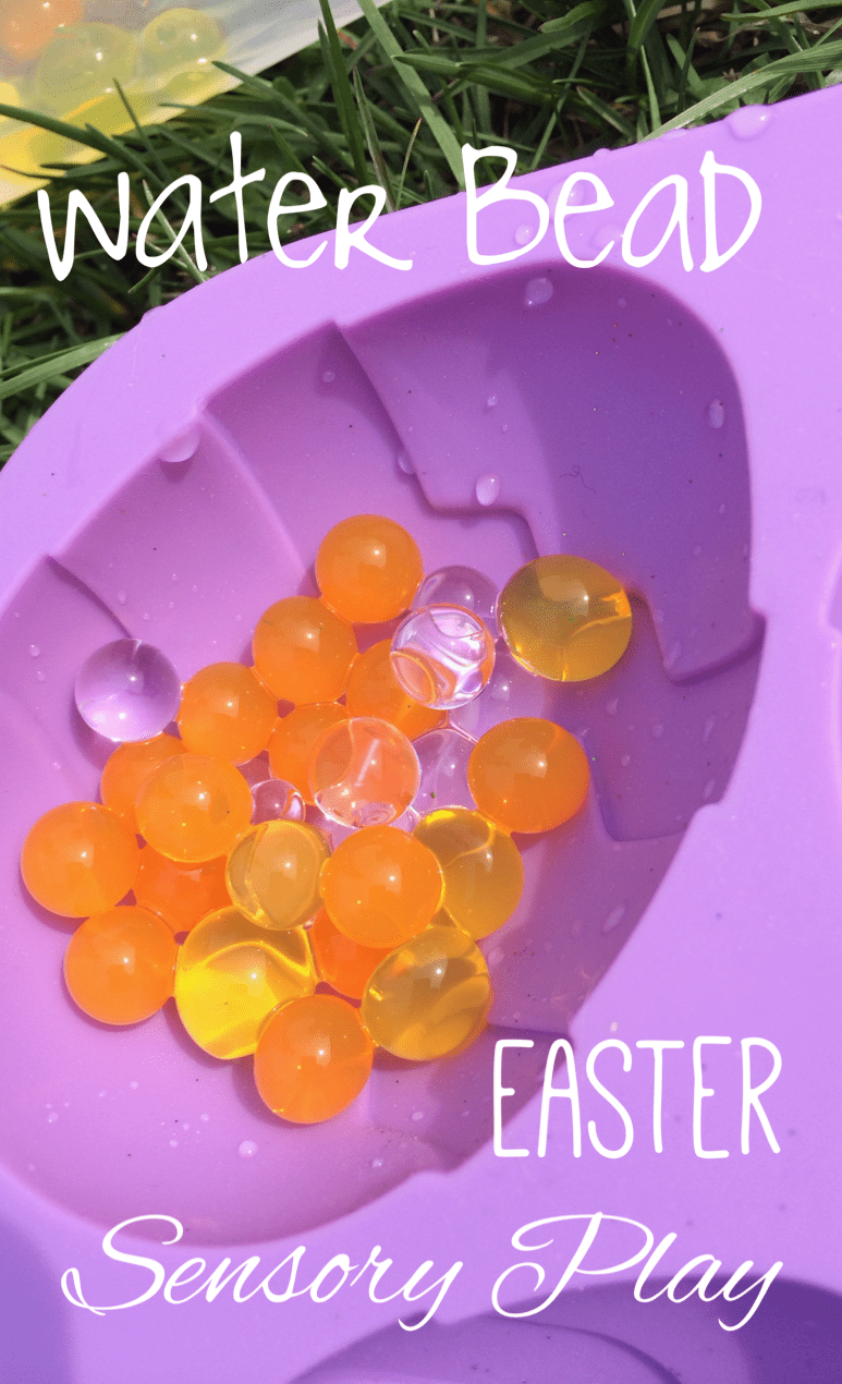 Water Bead Play: Celebrating Spring