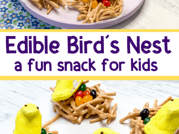 Edible Bird's Nest: Kid-Made Easter Party Treats