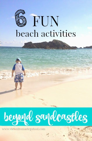 Beach activities that are perfect for a day trip, and vacation to the beach, or a beach-themed party! Make the most of your experience!