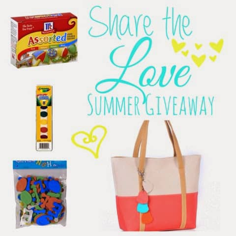 Share the Love Summer Giveaway!
