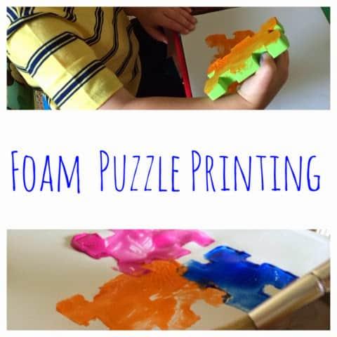 Foam Puzzle Printing