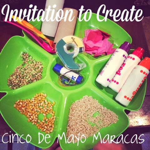 Invitation to Create: Cinco de Mayo Maracas