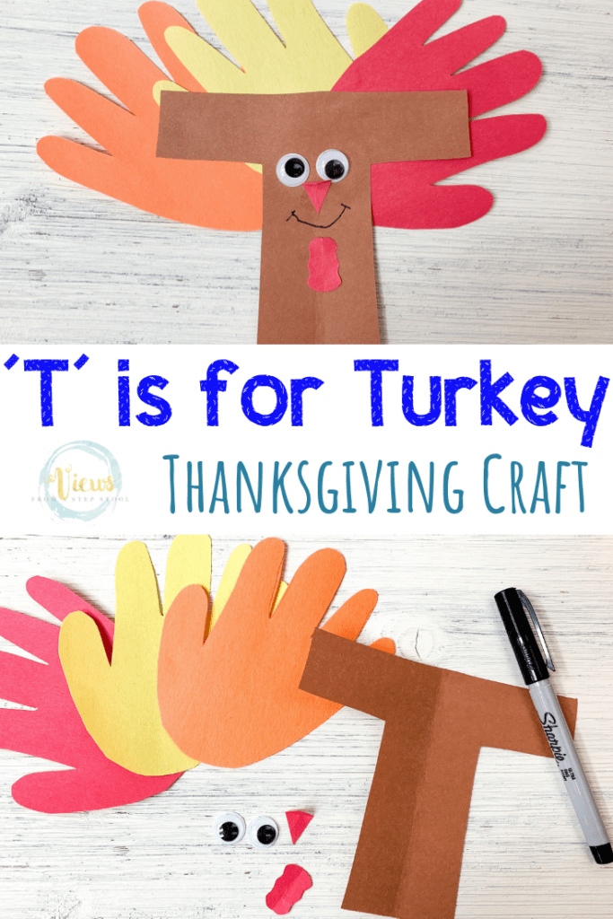 turkey craft pin 1