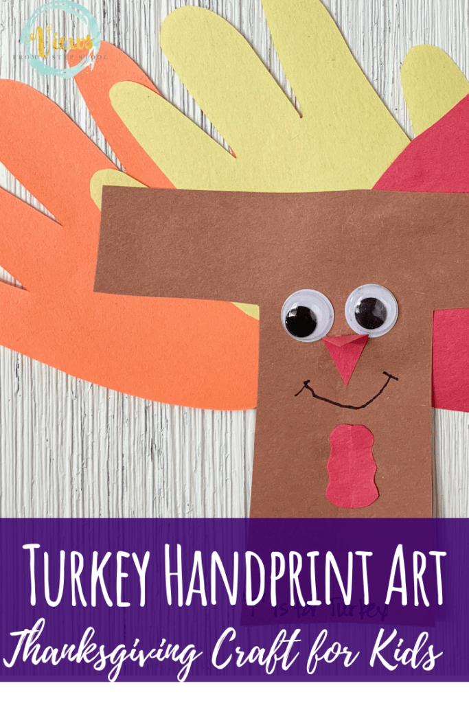 turkey craft pin 3