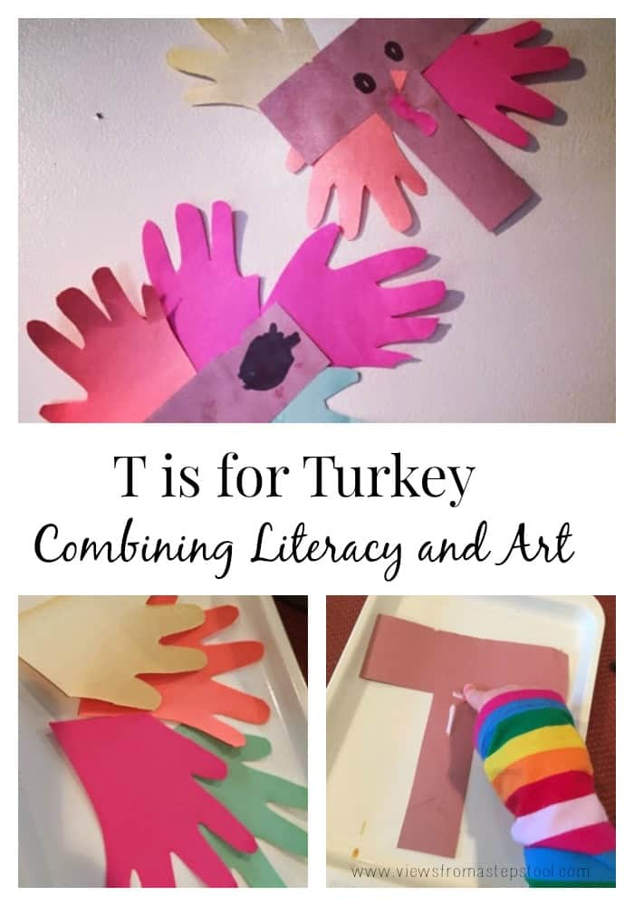 Combine literacy and art with this simple craft!